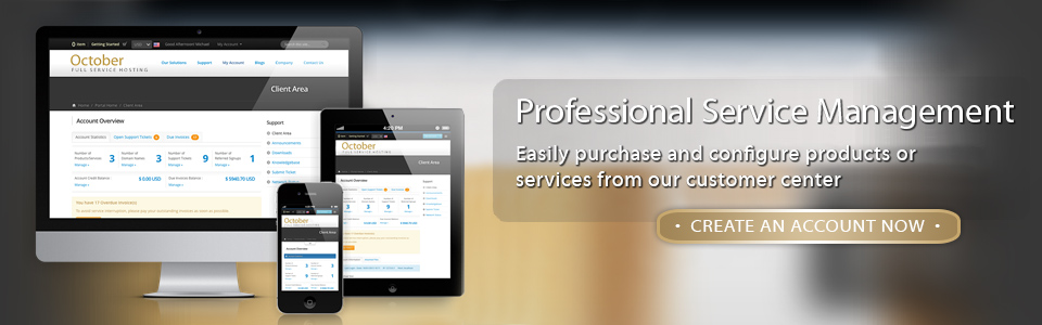 Professional Service Management - Get Your Account Today!